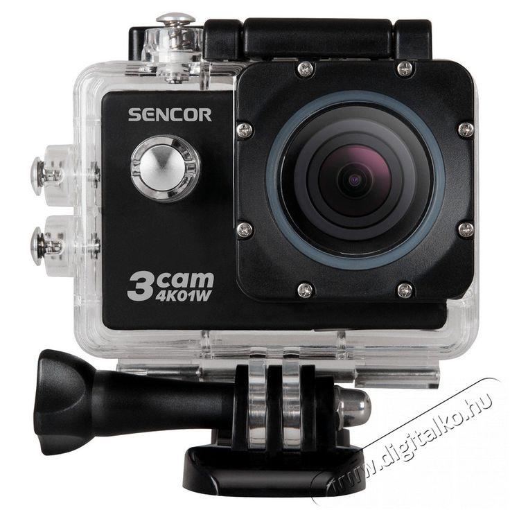 Sencor 3CAM 4K01W sport kamera Fényképezőgép / kamera - Sport kamera - 4K felbontású