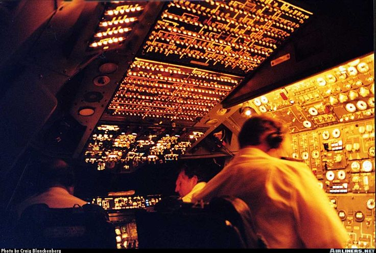 SAA 747-300 in flight