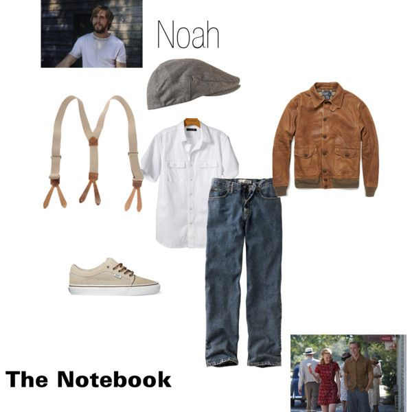 """Noah from the Notebook"" by jesseyd on Polyvore"