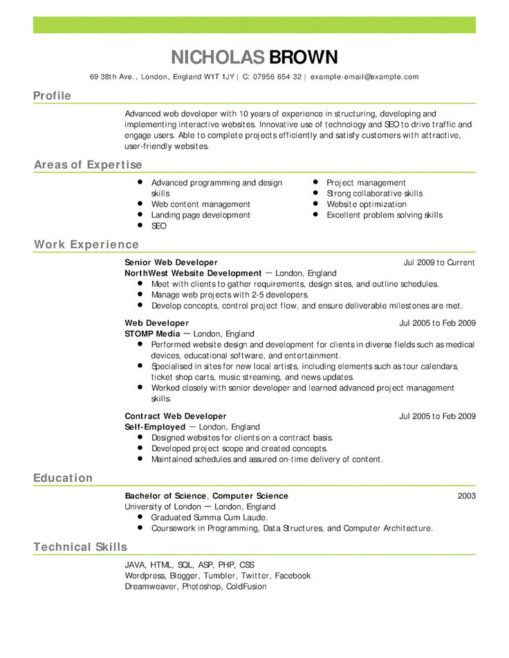 Tailor Make Your Resume With Free Resume Templates