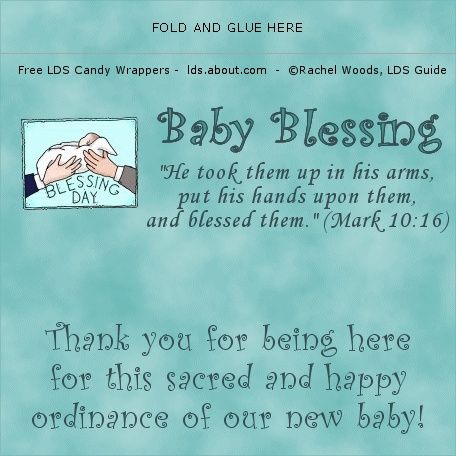 Cool Lds Ideas For Baby Blessing And Other Things