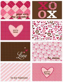 Printable Valentine card download #valentines #printable