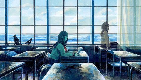 「海辺のカフカを読んだ日」/「のみや@ティア115 G24b」のイラスト [pixiv]