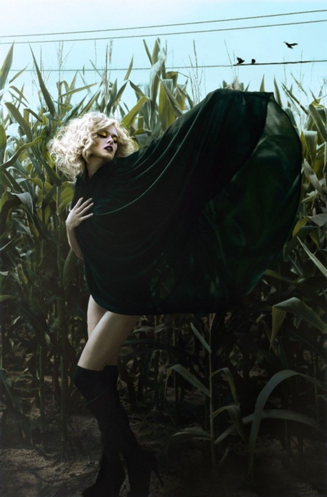 Jennifer Alder – Black Crow • Dark Beauty Magazine