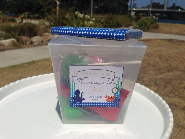 Under the Sea - Party Favours by Sweet Soirees (www.sweet-soirees.com.au)