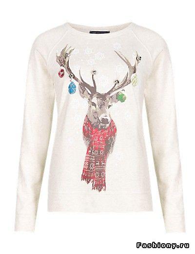 Рождественские свитера от Mark&Spenser 2014