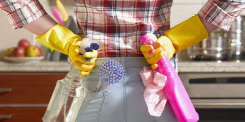 How to Speed-Clean Your House in Under An Hour - These six sneakily strategic moves will make you look like you've got a cleaning crew hiding in your... - Provided by Redbook