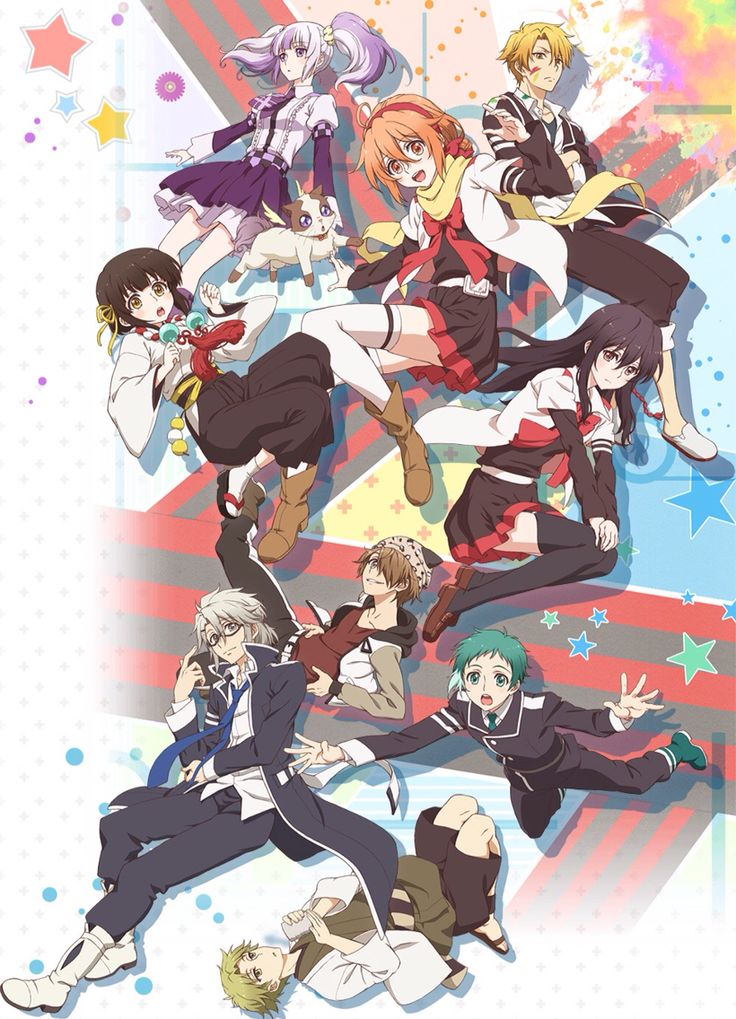Mikagura Gakuen Kumikyoku Anime, Anime wallpaper, Anime