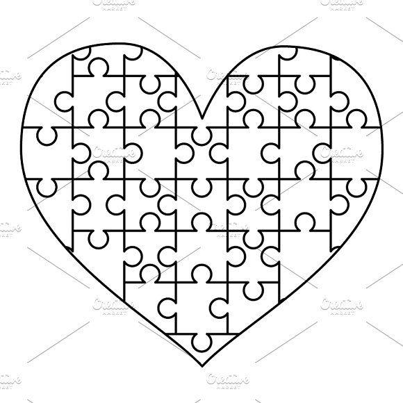 Puzzle Piece Template 5 Puzzle Piece Template Puzzle Pieces