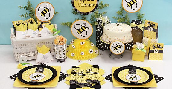 Bumble Bee Baby Theme | Find Bumble Bee Baby Shower Supplies , up to 50% off tableware, FREE ...