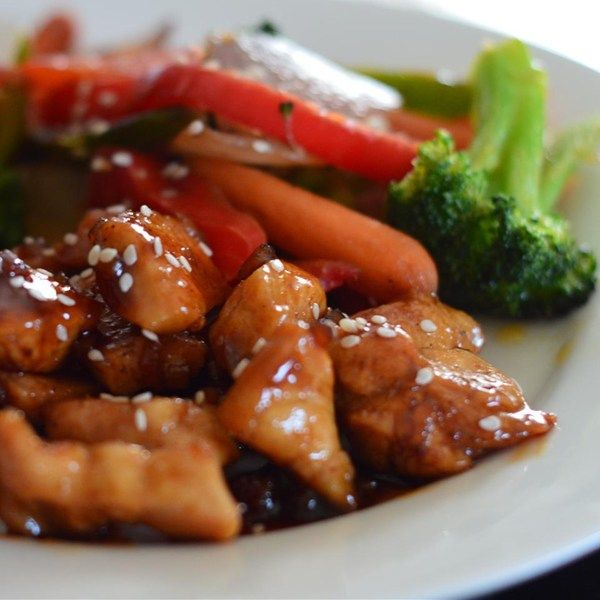 """Sweet, Sticky and Spicy Chicken 