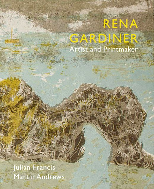 """""""Rena Gardiner: Artist and Printmaker"""" by Julian Francis and Martin Andrews (Little Toller)"""