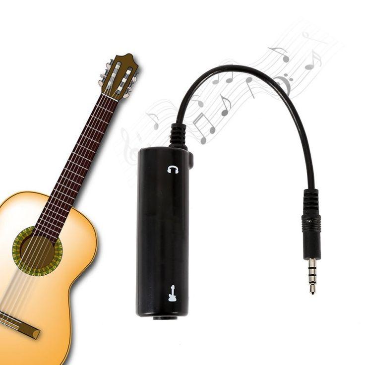 Efectos de guitarra guitarra pedal sistema de convertidor de interfaz audio link cable adaptador para ipad iphone