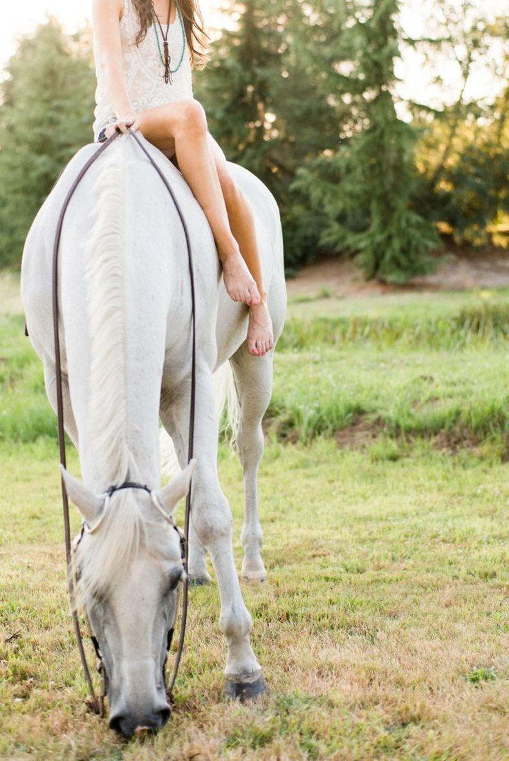 BAREBACK IM SOMMER Portland, Oregon Pferdefotografie von Kirstie Marie Photography www.kirstiemarie.com