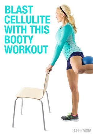 Get rid of the cellulite by adding this workout to your day!