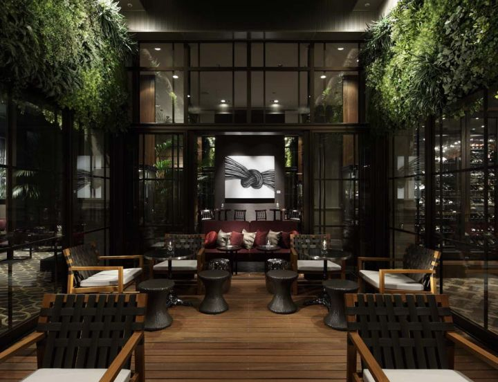Oriental hotel s new look commercial interior design news - 17 Best Images About Chinese Interior On Pinterest
