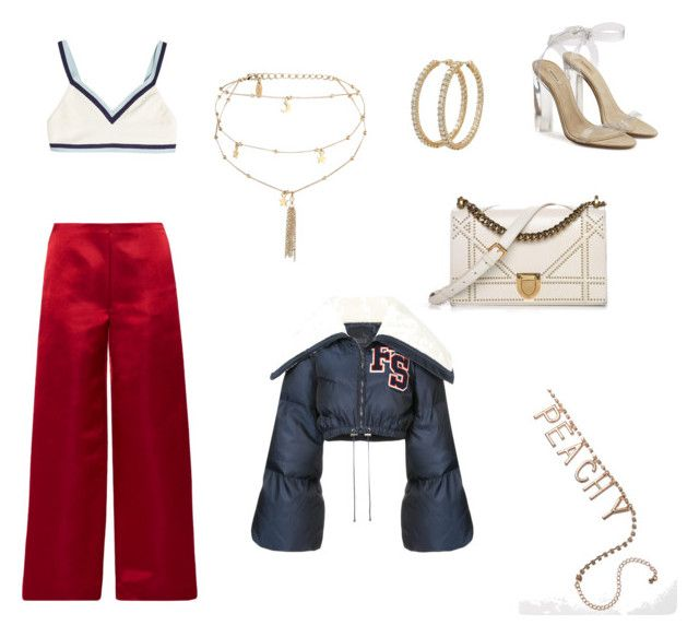 """""""Untitled #10"""" by sofiabaaima ❤ liked on Polyvore featuring The Row, Ettika, Christian Dior, Puma, Yeezy by Kanye West and Roberto Coin"""