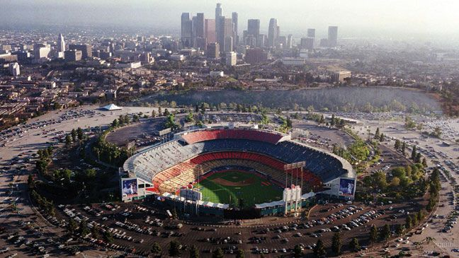 Dodger Stadium, Los Angeles, California - Home of the Los Angeles Dodgers