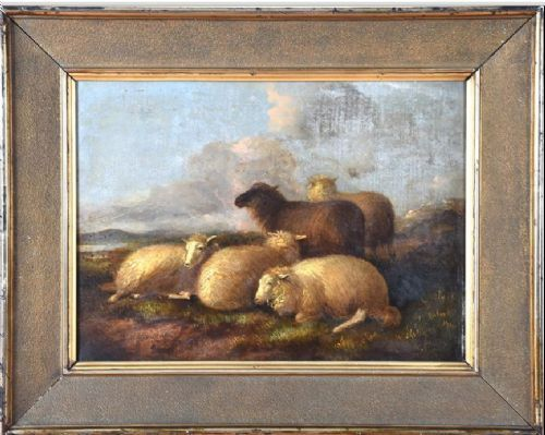 Thomas Sydney Cooper (18031902) Oil on canvas Antiques