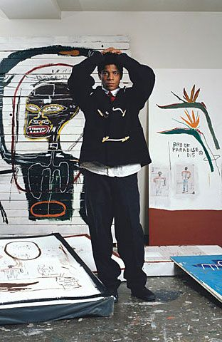 want a man make over with hints of vintage and retro style fashion or ideas for fashion gifts to get the man with style then these photos of look gurus past may catch your eye Jean-Michel Basquiat met him…outside of his gallery in NYC…sweet, welcoming…maybe high on grass…