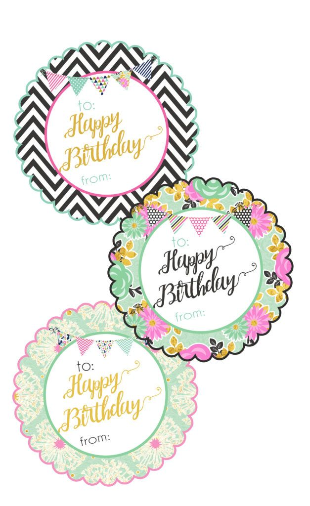 It's just an image of Happy Birthday Tag Printable intended for cake