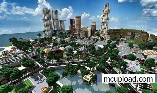 World of Keralis Epic Cities Map Minecraft map mincraft Pinterest