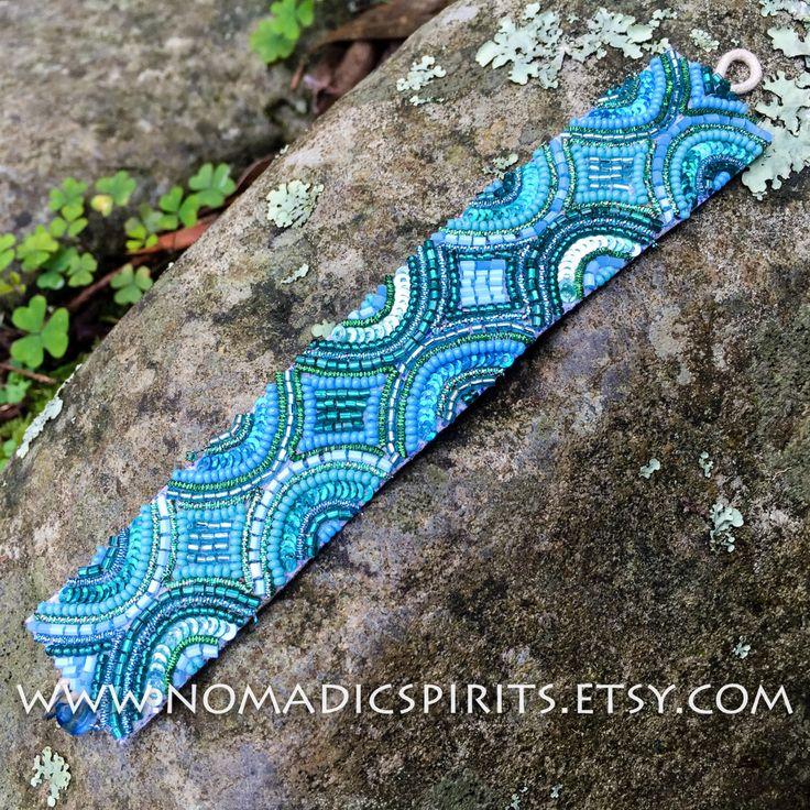 A personal favorite from my Etsy shop https://www.etsy.com/au/listing/452776650/blue-beaded-bracelet-hippie-gypsy-fairy