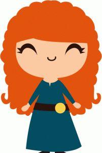 Silhouette Online Store - View Design #57143: cute celtic princess