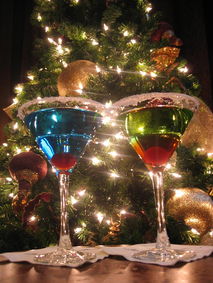 Holiday Cocktails Oh Christmas Tree Pinterest
