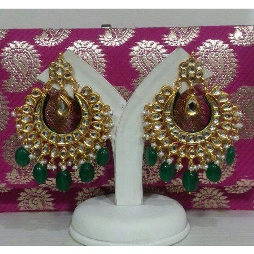 kundan chand bali | Earrings
