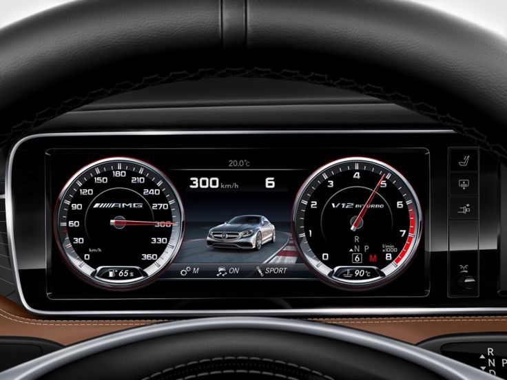 Nowadays nearly every car manufacturer implements digital dashboards. Here is a collection of some of them.