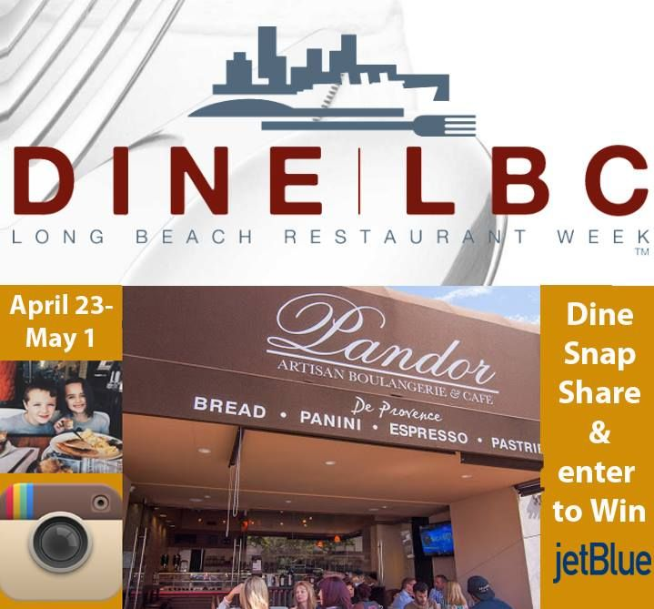 3 more days to win JetBlue tickets! Visit Pandor Long Beach and post a pic of your food on Instagram with the hashtags #DineLBC and #pandorbakery http://ow.ly/4ncrQi