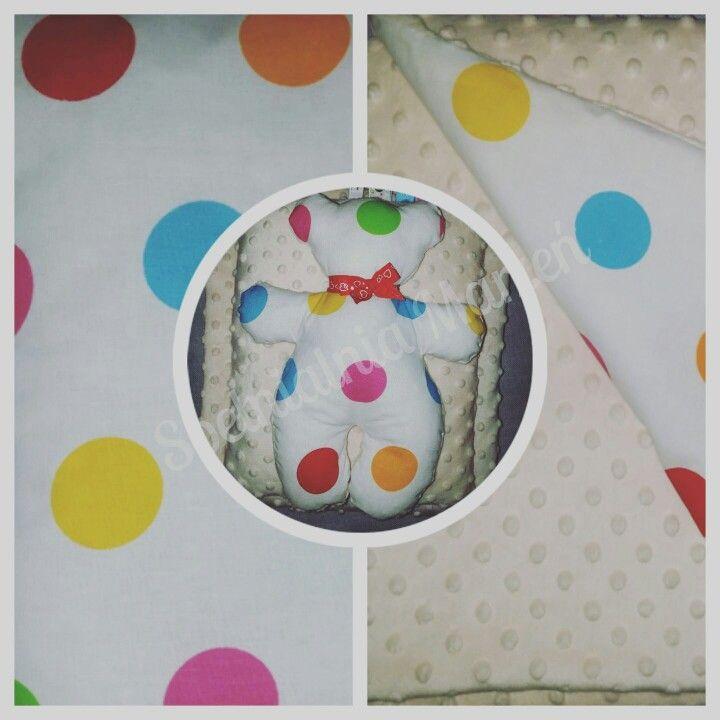 AlMiś www.spelnialniamarzen.com.pl #minky #teddybear #toys #forbaby #handmade #spelnialniamarzen