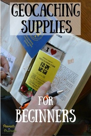 Geocaching Supplies for the Beginner Geocacher - Peanuts or Pretzels Travel #Geocaching #Supplies #TravelCaching