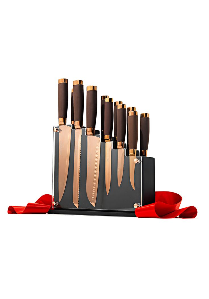 Forte 13-Piece Cutlery Block Set || Double-click to see the other 72 picks for Oprah's Favorite Things 2014!