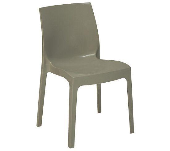 Chaises chaise ice gris cuisine pinterest glace - Chaise cuisine grise ...