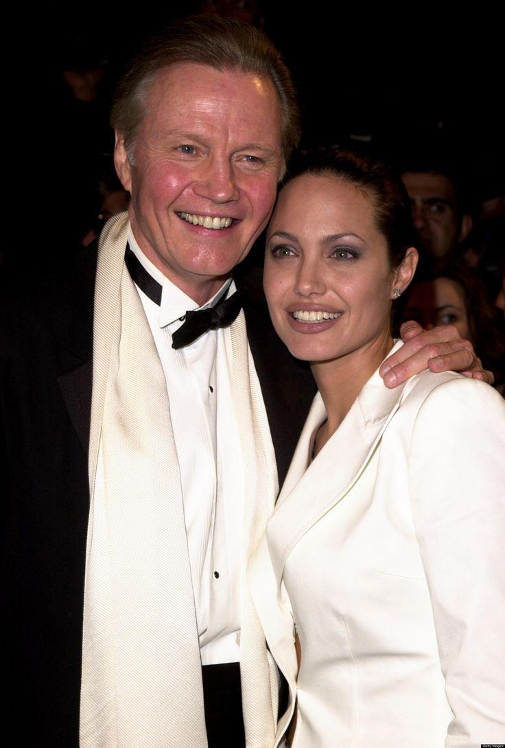 Jon Voight and Angelina Jolie.