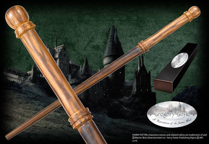 Gregory Goyle's Character Wand - The Noble Collection