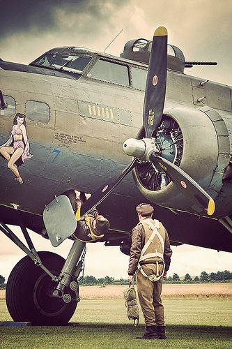 B-17 Flying Fortress. The young men were given 300 hours of intensive training before being deployed to action. The initial rejection rate of applicants was 45%. Less than perfect eyesight was a major cause of rejection.  rjp