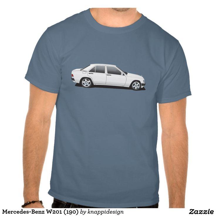 Mercedes-Benz W201 (190) T-shirt #mercedes-benz #w201 #190E #mercedes #tshirt #tpaita #troja #car #auto #bil