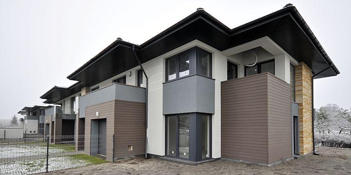 2nd stage of Kakolowa Aleja Housing Estate in Aleksandrow Lodzki near Lodz / Drugi etap osiedla Kąkolowa Aleja w Aleksandrowie Łódzkim koło Łodzi