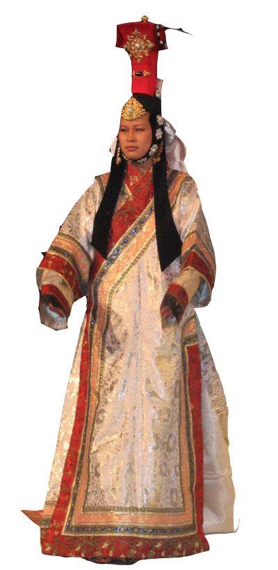 Mongol Queen Hat Xiii Century Pseudo Pompous Wigs