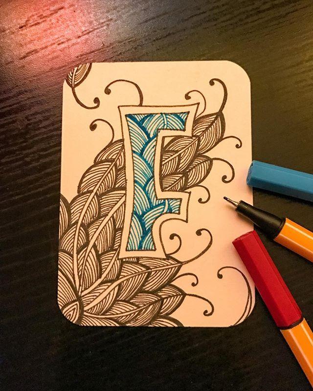 #зенарт_алфавит с @centre.77 и @natalia_morgoch  #графика #узоры #зентангл #учусьрисовать #тангл #зенарт #дудлинг #zendoodle #zenart #doodling #doodle #zentangle #tanglebook #tangle #idraw #drawing #graphic #ink #zentangleart #ekblog #instagramrussia #abc #graphic #art #екб