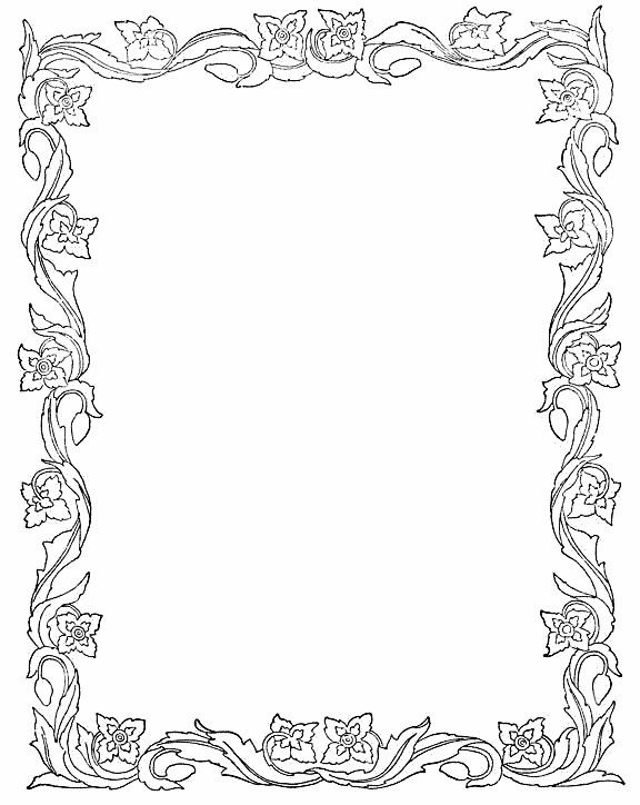 266 best Декоративные рамки images on Pinterest Pyrography - printable writing paper with border