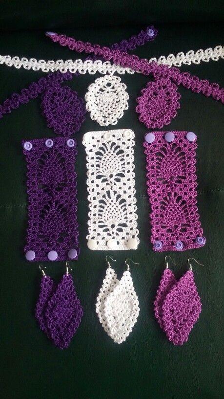 Parures crochet