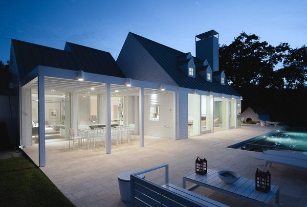 Modern home with Outdoor and Back Yard. exterior, night shot Photo 14 of The Birdhouse