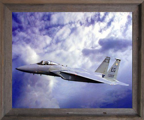 A wonderful framed poster for your creative designed home from Impact Posters Gallery. This amazing F-15 Eagle poster will surely enhance the beauty of your room's wall and catch your fancy for sure. The F-15 Eagle is all-weather, extremely maneuverable, tactical fighter plane which is designed to permit the Air Force to gain and maintain air supremacy over the battlefield. You'll be proud to hang this framed art on your walls of your home.