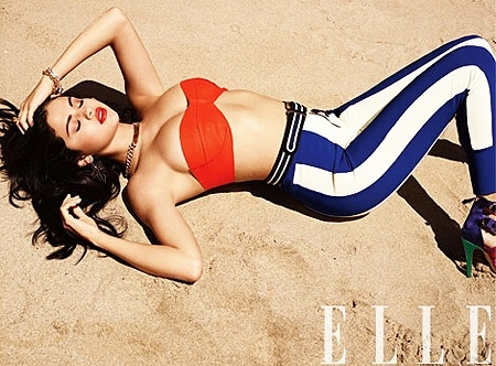 Selena Gomez #sexy on Elle