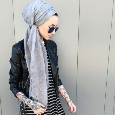 Beautiful hijab fashion to copy right now (5)