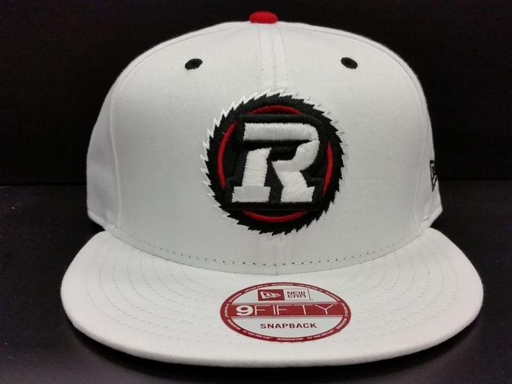 Ottawa Redblacks Snapback Exclusive Custom White